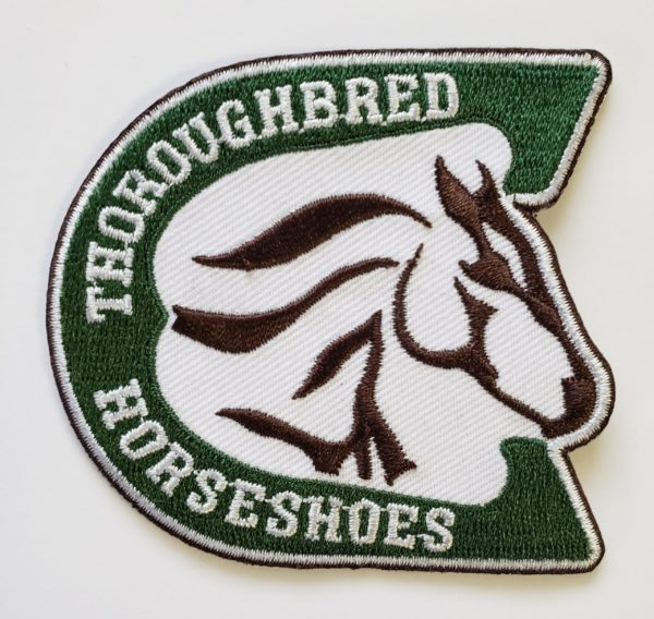 Thoroughbred Horseshoes Patch
